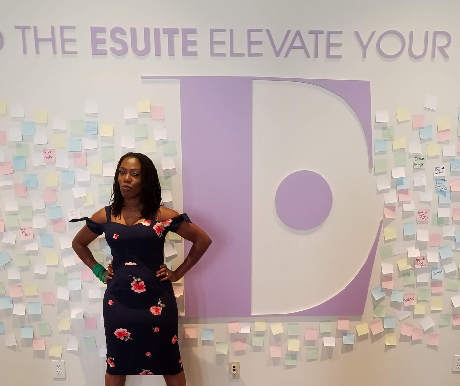 Tiffany The Budgetnista at the ESuite